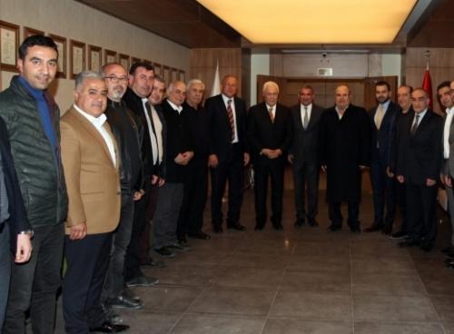DSP ADAYI CELAL DOĞAN GAİMDER'İ ZİYARET ETTİ