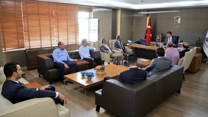 GAİMDER, Şehitkamil Belediyesi'ni Ziyaret Etti