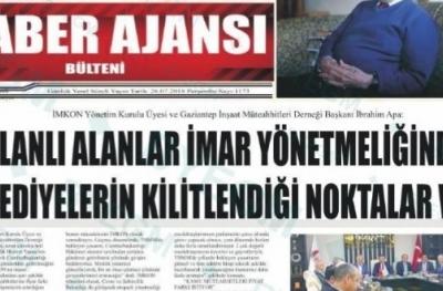 GAİMDER İnşaat Sorunlarını Ankara'ya Taşıdı