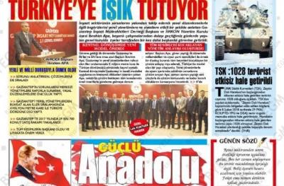 TÜRKİYE'YE IŞIK TUTUYOR